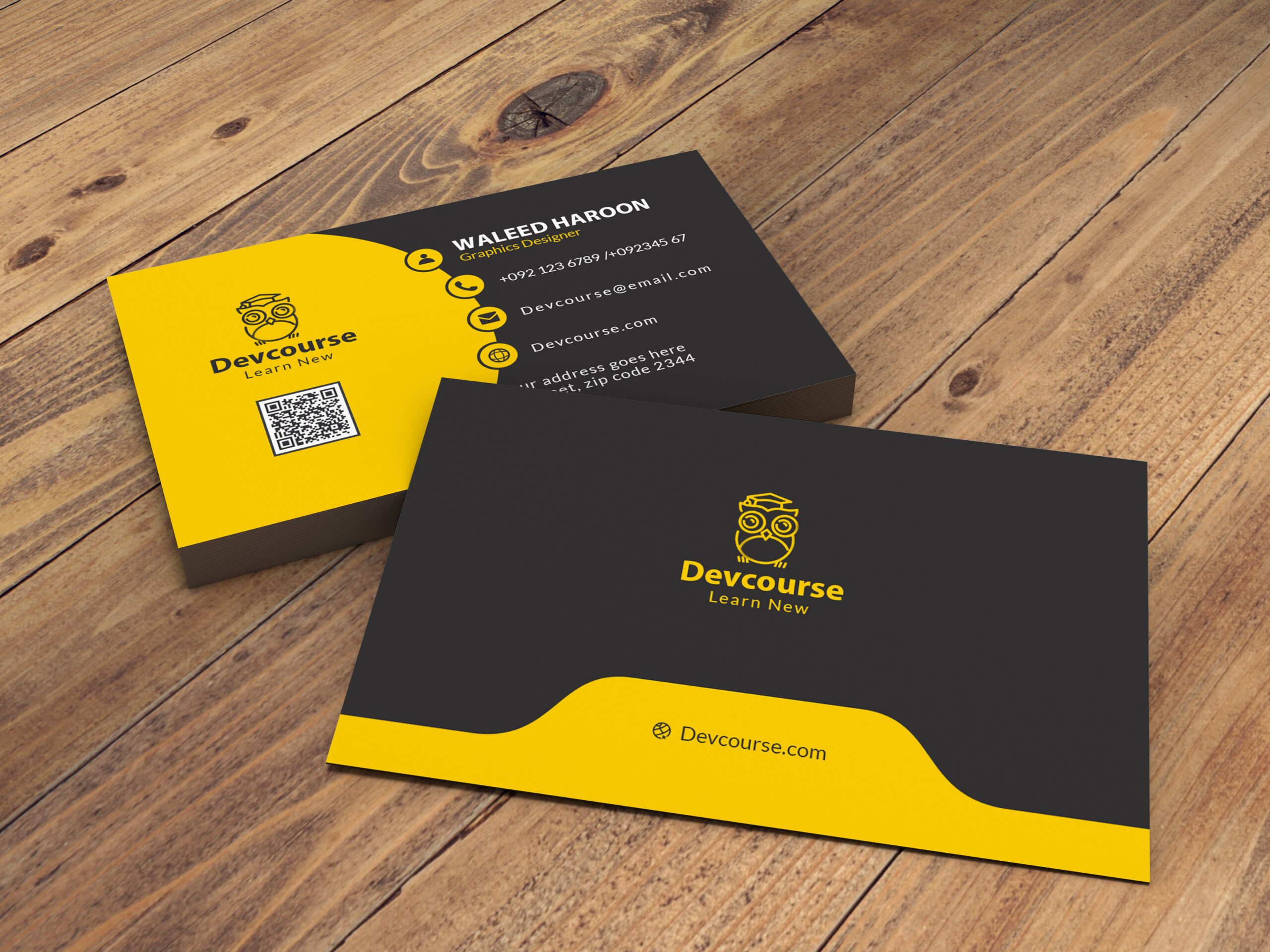 How to Design Business Card in Adobe Photoshop